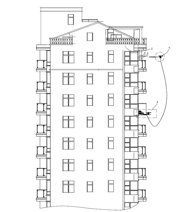 专利交易-一种高层建筑物自带的灭火系统