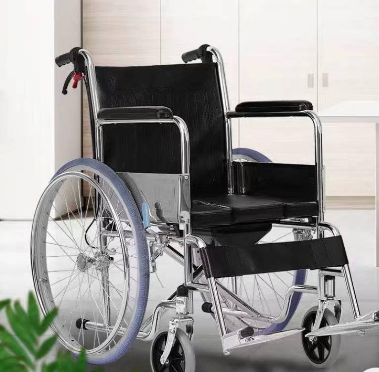 专利交易-坐便轮椅
