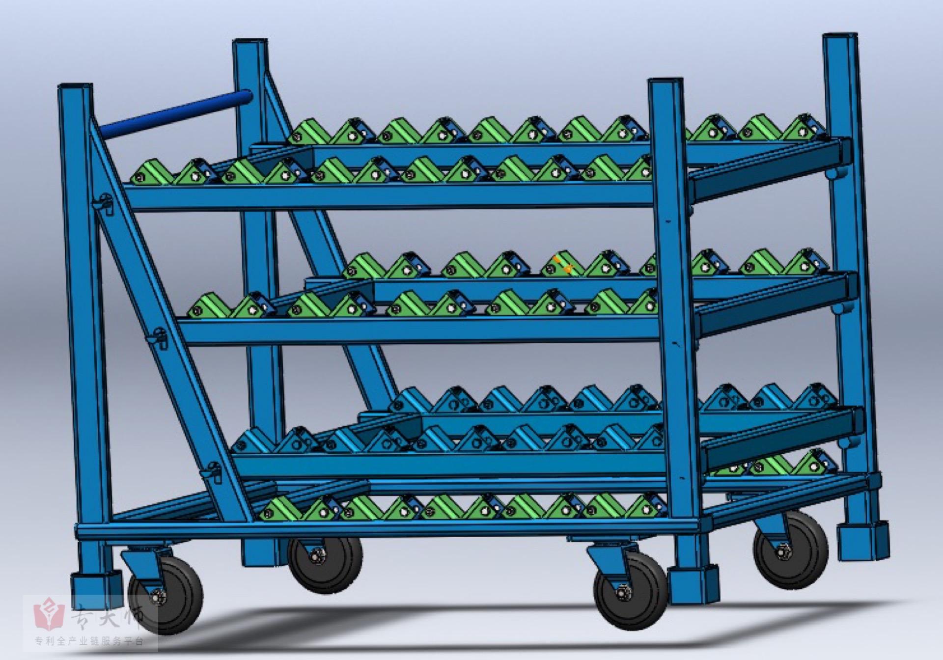 专利交易-垂直翻转装置