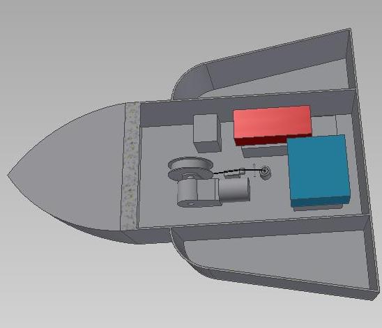 专利交易-一种遥控垂钓船