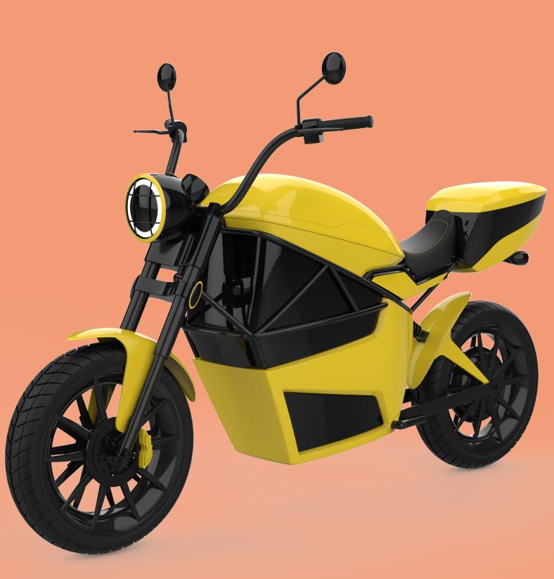 专利交易-一种外卖专用电动摩托车