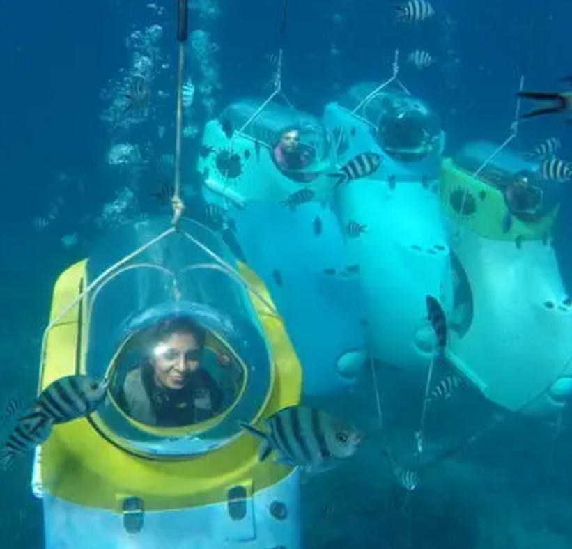 专利交易-一种开放式水下观光艇