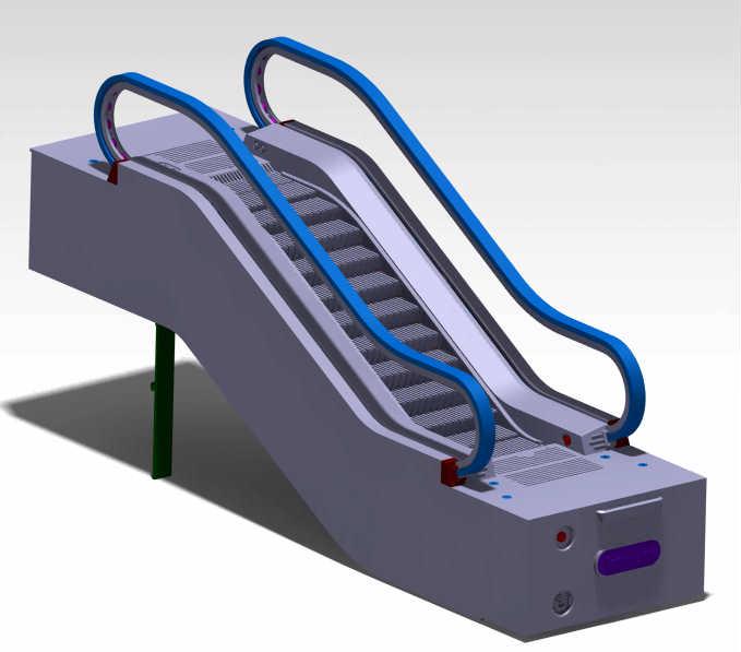 专利交易-一种仿真玩具自动扶梯